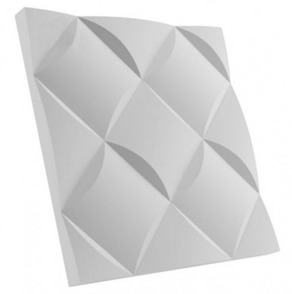 CZEKOLADA - Dekoracyjny Panel Ścienny 3D Z Gipsu Ceramicznego