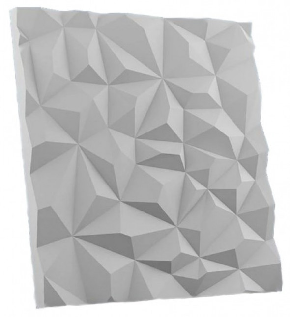 DIAMOND - Dekoracyjny Panel Ścienny 3D Z Gipsu Ceramicznego
