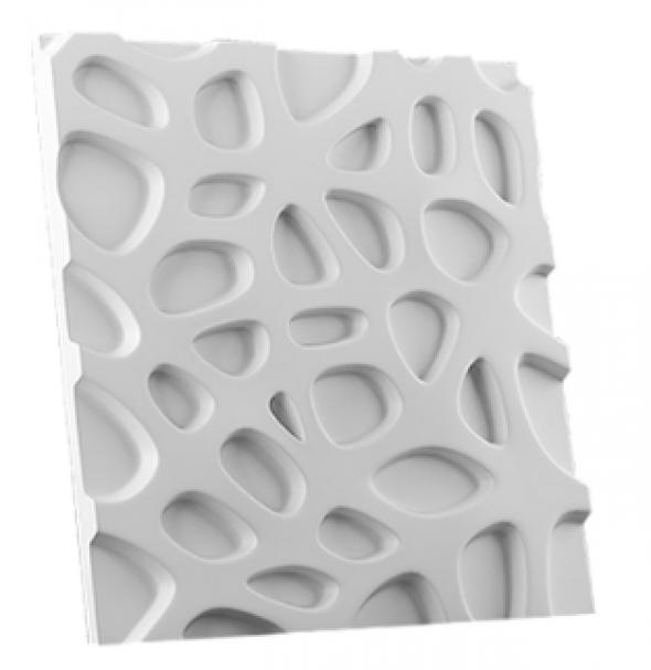 ELIZIUM - Dekoracyjny Panel Ścienny 3D Z Gipsu Ceramicznego