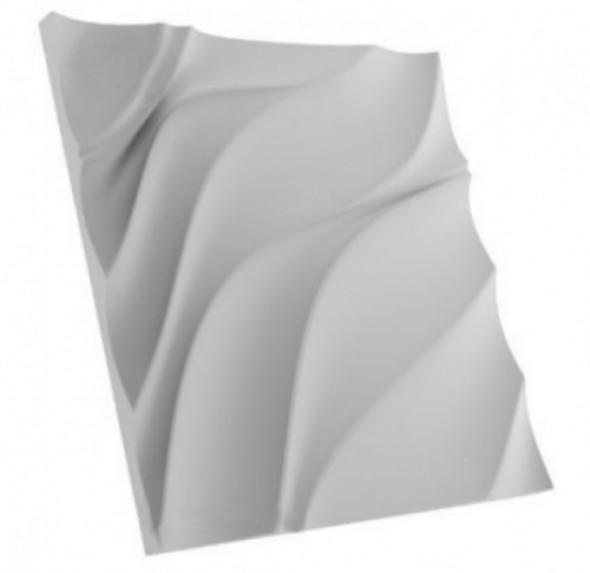 FRANCJA ELEGANCJA - Dekoracyjny Panel Ścienny 3D Z Gipsu Ceramicznego