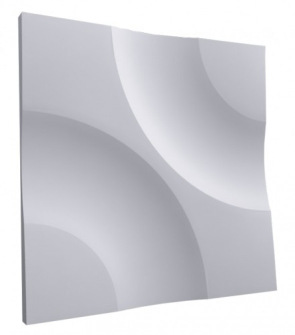 KOŁA - Dekoracyjny Panel Ścienny 3D Z Gipsu Ceramicznego