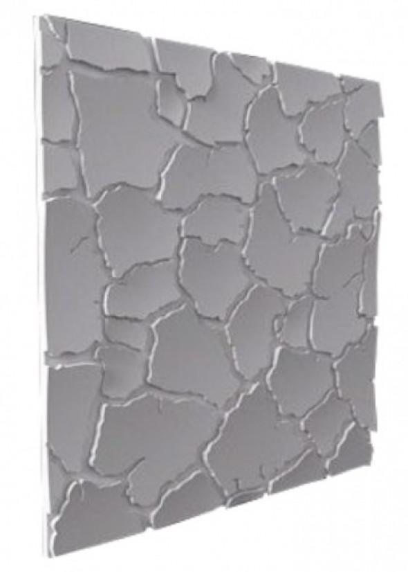 SAHARA - Dekoracyjny Panel Ścienny 3D Z Gipsu Ceramicznego