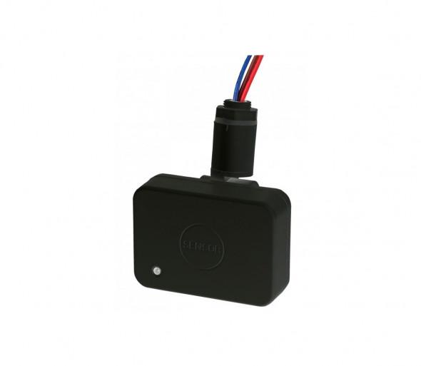Czujnik ruchu 230V IP65 czarny