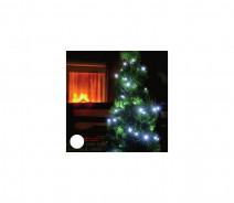 Dekoracyjny łańcuch świąteczny 100xLED/230V