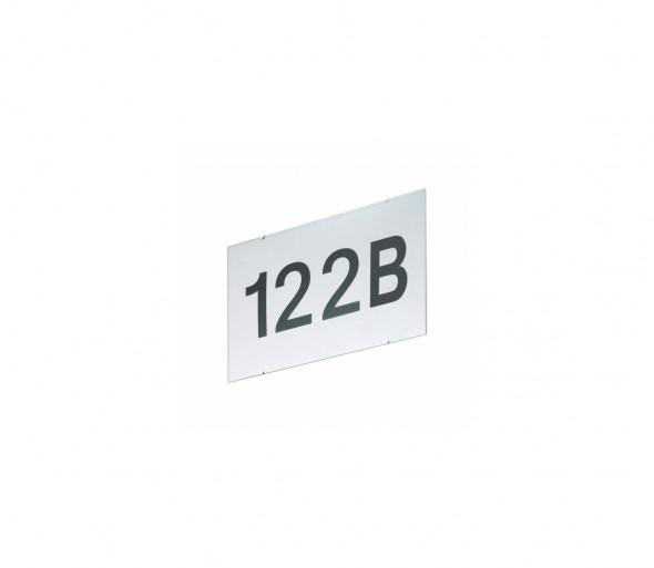 EGLO 87137 - Numer domu CINEMA srebrny