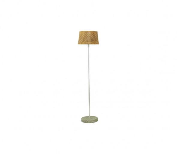 EGLO 88083 - Lampa stojąca zewnętrzna LEVADA 1xE27/100W aluminium / jasny brąz