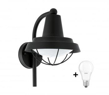 Eglo 94862 - LED Oświetlenie zewnętrzne COLINDRES 1 1xE27/8,5W/230V