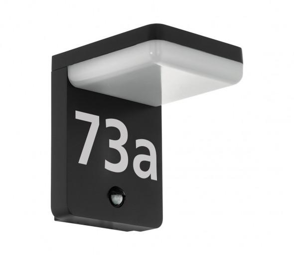 Eglo 98092 - LED Numer domu z czujnikiem AMAROSI LED/11W/230V IP44
