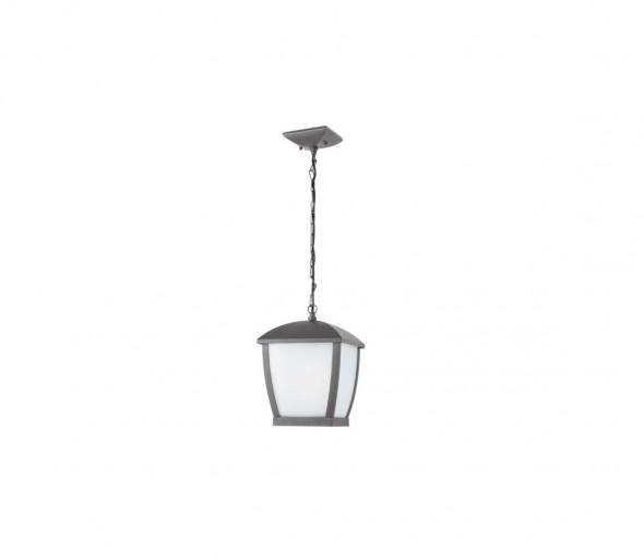 FARO 75002 - Lampa wisząca zewnętrzna na łańcuchu WILMA 1xE27/100W/230V IP44