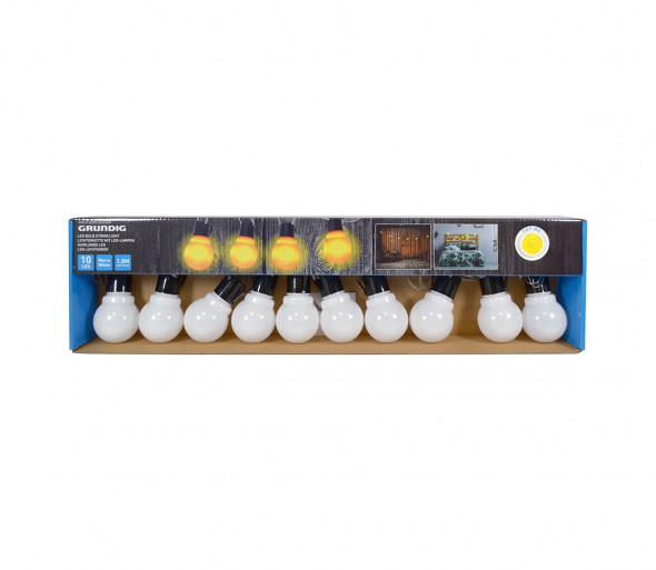 Grundig - LED Łańcuch dekoracyjny żarówki 10xLED/2xAA