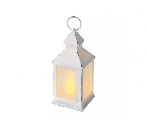 LED Dekoracja świąteczna LED/0,7W/3xAAA latarnia biały