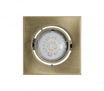 LED oczko halogenowe IGOA 1xGU10/5W/230V brąz