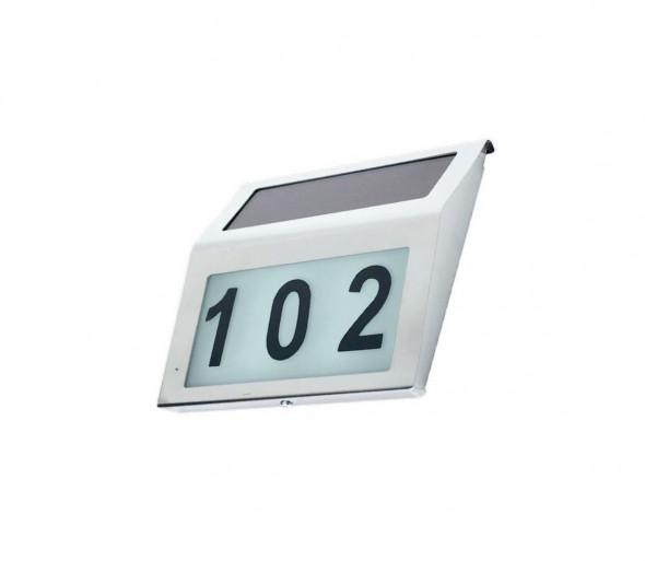 LED Solarny numer domu 1,2V IP44