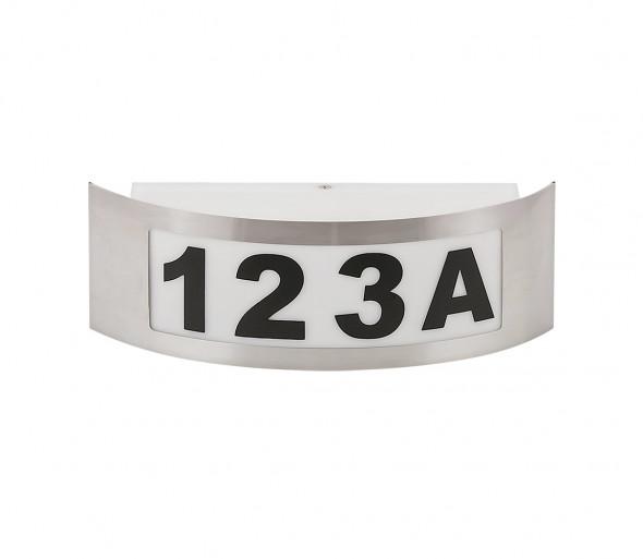 Numer domu 1xE27/14W/230V