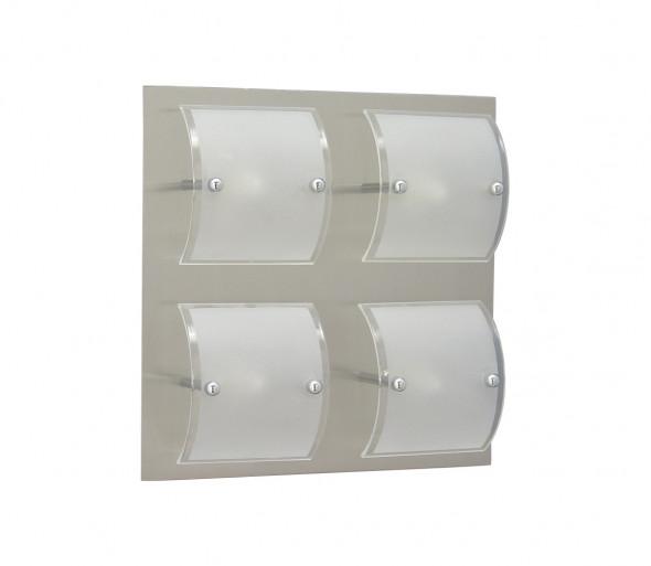 Plafon BRICK 4xG9/40W matowy chrom