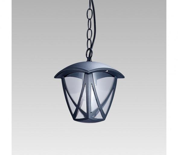 Prezent 39030 - Lampa wisząca zewnętrzna na łańcuchu SPLIT 1xE27/40W/230V IP44
