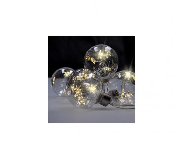 Solight 1V228 - LED Łańcuch świąteczny 2,5 m 30xLED/3xAA