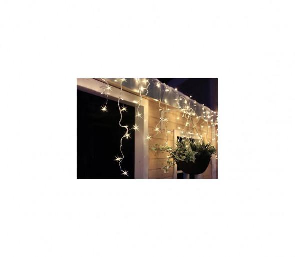 Solight 1V40-WW - LED Świąteczna zewnętrzna kurtyna świetlna 120xLED/230V 3 m IP44