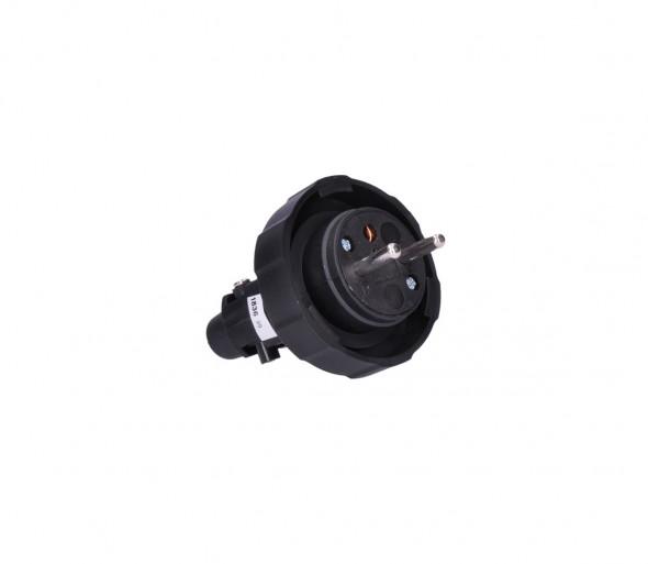 Solight P78 - Gumowa zaślepka 230V/16A IP65