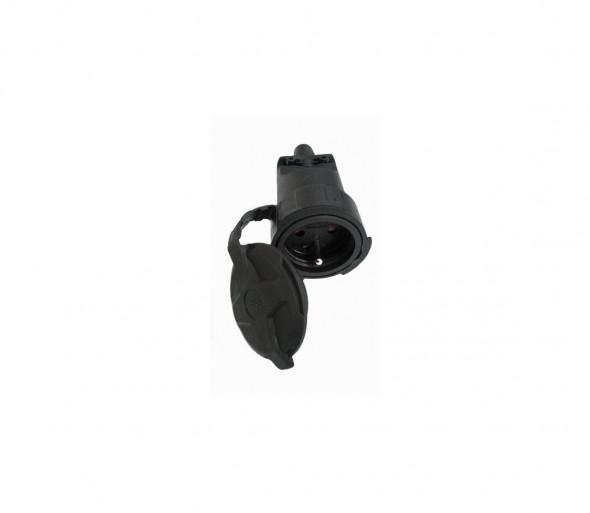 Solight P79 - Gumowa zaślepka 230V/16A IP65
