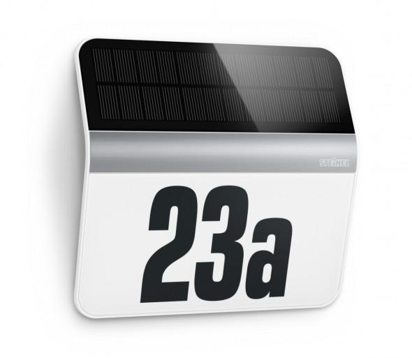 STEINEL 007140 - LED Numer domu solarny XSolar LH-N LED/0,03W stal nierdzewna