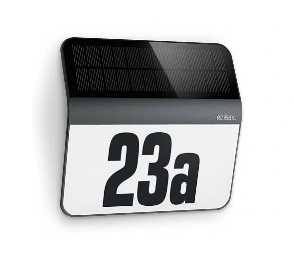 STEINEL 0357530 - LED Solarny numer domu XSOLAR LED/0,03W IP44