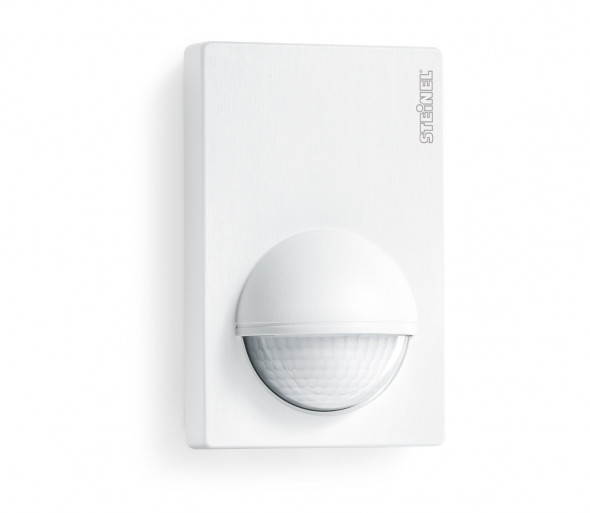 STEINEL 603212 – Zewnętrzny czujnik ruchu IS 180-2 White IP54