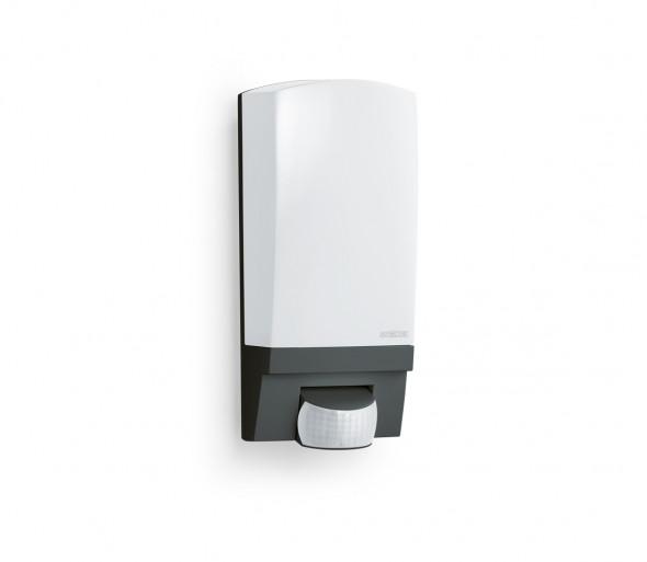 STEINEL 650612 - L1 zewnętrzna czarna lampa z czujnikiem IP44