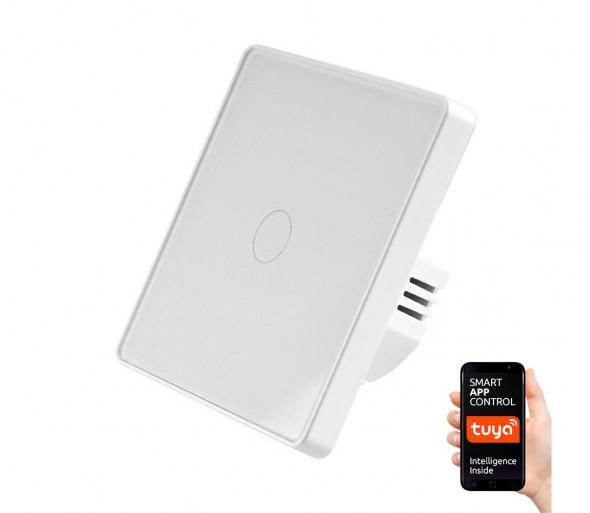Włącznik dotykowy jednobiegunowy SMART 800W / 230V Wi-Fi Tuya