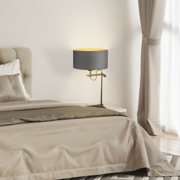 Lampa nocna na stolik nocny ALASKA GOLD WYSYŁKA 24H
