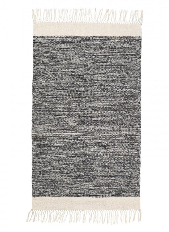 Dywanik łazienkowy MELANGE - różne kolory - ferm LIVING szary | grey