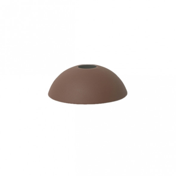 Klosz Hoop Shade do lampy COLLECT - ferm LIVING brązowy | red brown