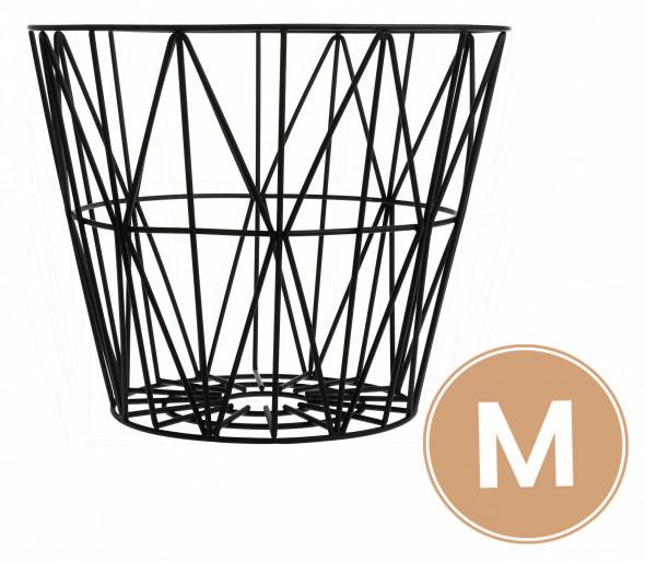 Kosz metalowy Basket szary