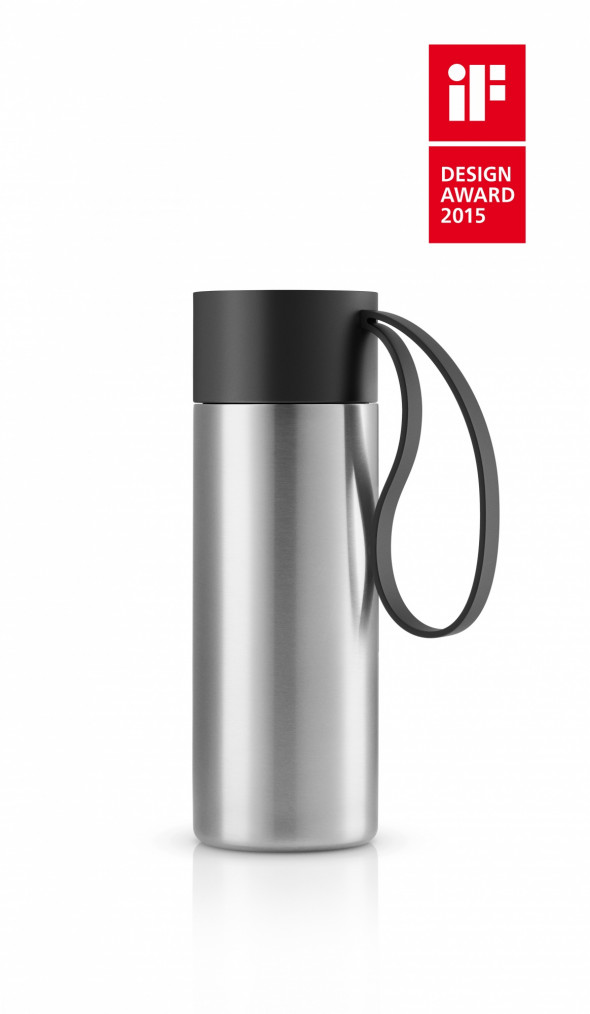 Kubek termiczny To Go Cup - Eva Solo marble grey