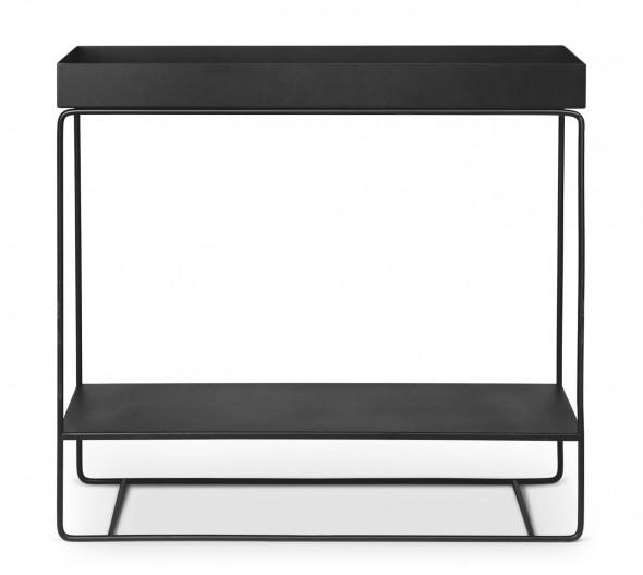 Kwietnik PLANT BOX Two-Tier - ferm LIVING jasnoszary   light grey