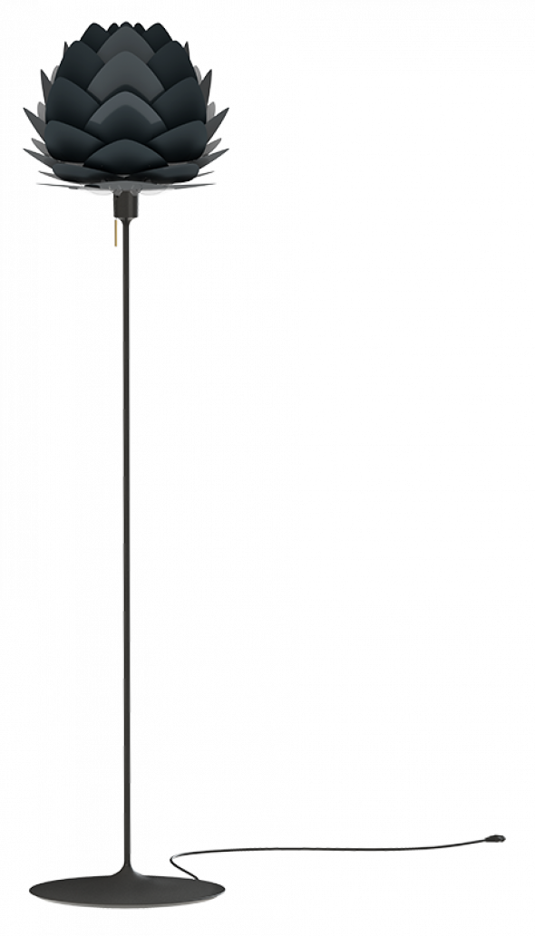 Lampa podłogowa ALUVIA Champagne Floor - UMAGE | anthracite grey