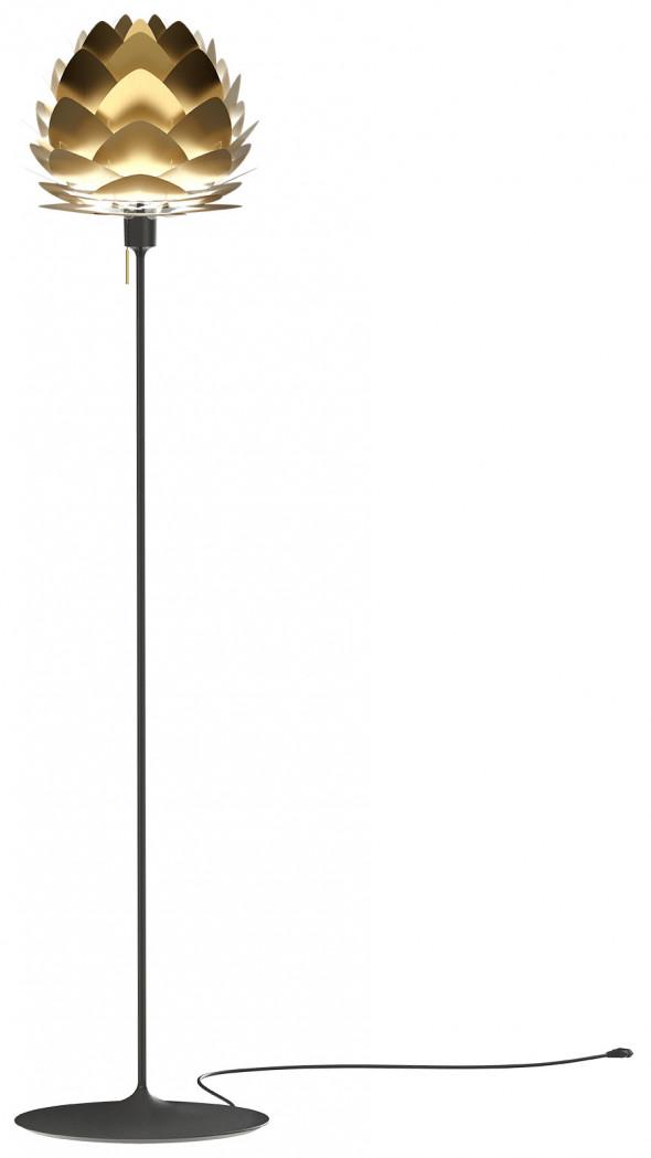 Lampa podłogowa ALUVIA Champagne Floor - UMAGE | brushed brass