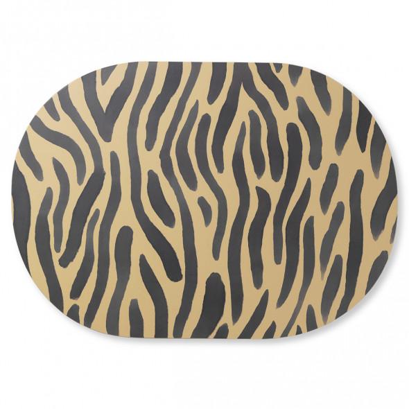 Mata / podkładka na stół Safari - ferm LIVING zebra