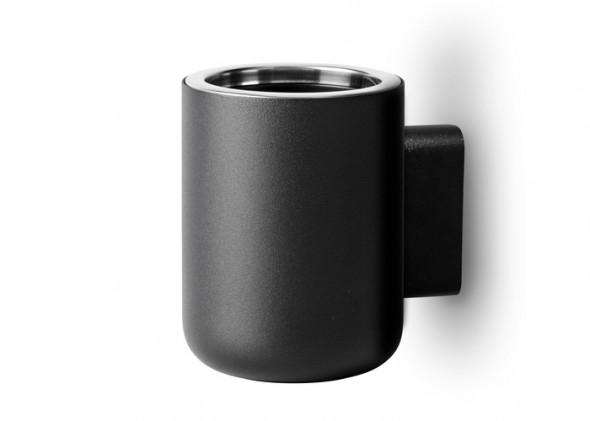 Pojemnik na szczoteczki do zębów - MENU | ścienny czarny