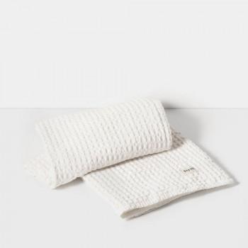 Ręcznik kąpielowy - biały - ferm LIVING