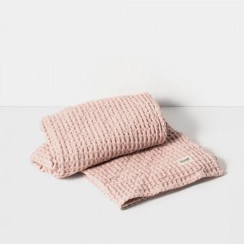 Ręcznik kąpielowy - różowy - ferm LIVING