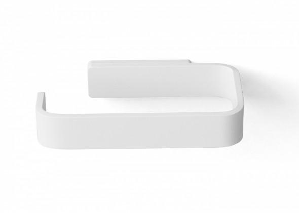 Uchwyt na papier toaletowy biały - MENU
