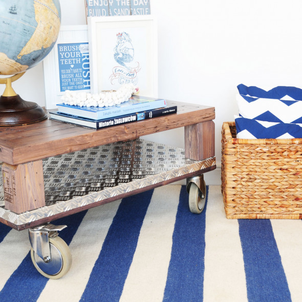 Wełniany dywan HAMPTON - White Oaks 120 x 180 cm
