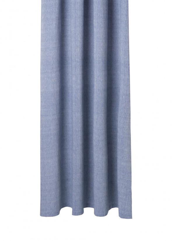 Zasłona prysznicowa CHAMBRAY niebieska - ferm LIVING