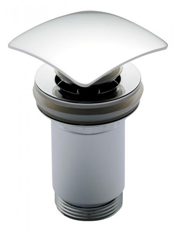 Alcaplast korek umywalkowy click-clack z przelewem kwadratowy A393