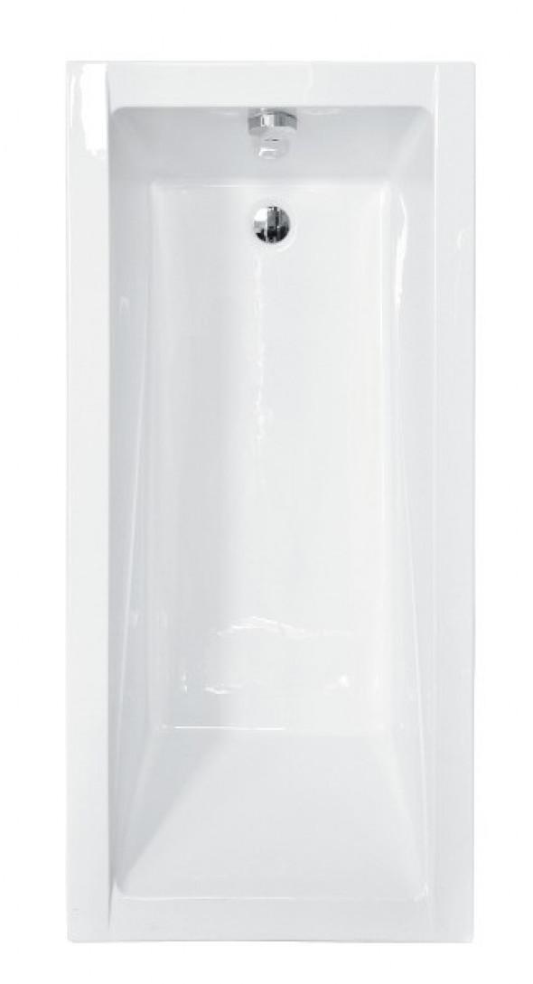 BESCO Modern wanna prostokątna 120x70 biały WAM-120-MO