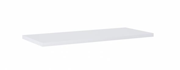 Elita Kwadro Plus blat pełny 100x40 cm biały HG PCV 166867