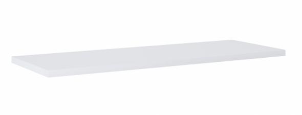 Elita Kwadro Plus blat pełny 120x40 cm biały HG PCV 166868