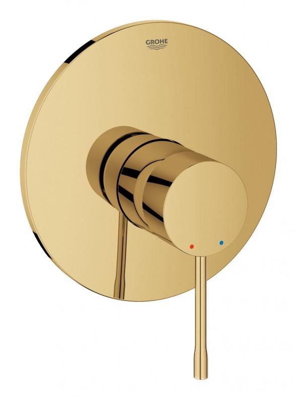Grohe Essence bateria prysznicowa podtynkowa złoty polerowany Cool Sunrise 19286GL1