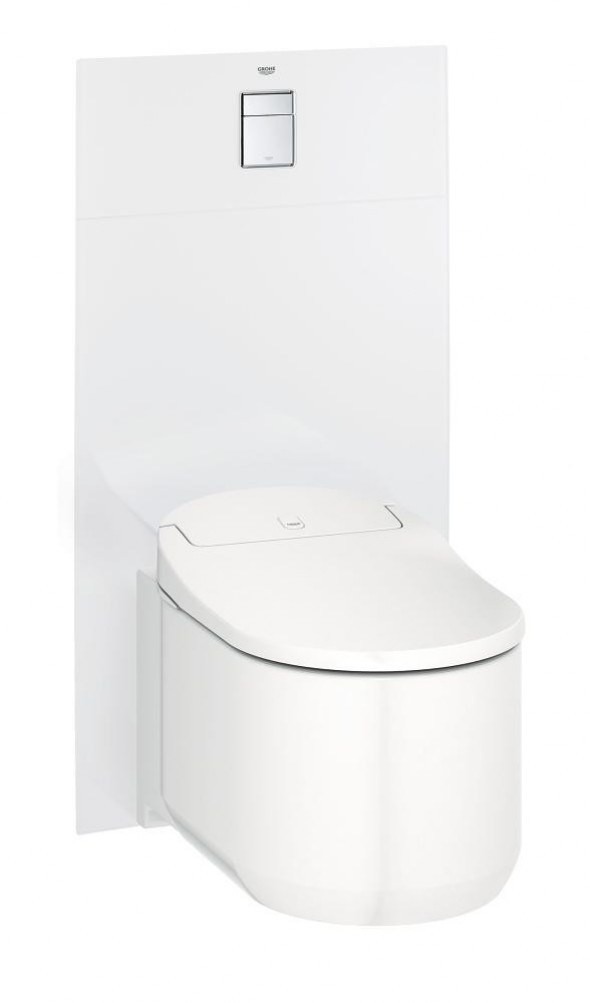 Grohe Skate Cosmopolitan panel szklany do WC biały moon white 39374LS0